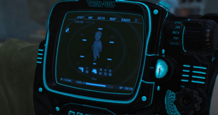 Pip-Boy Tron Edition - текстуры fallout 4