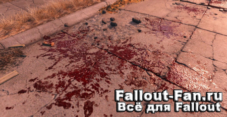 Enhanced Blood Textures 4к кровь для Fallout 4