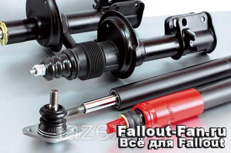 Автомобильный амортизатор – функции и устройство